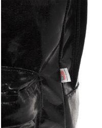 American Apparel Shiny Nylon Backpack - Black