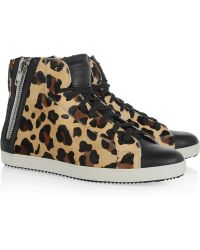 Pour La Victoire - Heydi Leather Trainers - Lyst