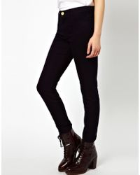 River Island Molly Skinny Jeans - Lyst