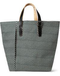 Marni | Printed Canvas Tote Bag | Lyst
