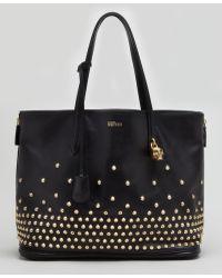 Alexander McQueen Studded Padlock Medium Shopper Bag - Lyst