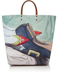 Anya Hindmarch Earl Valentine Canvas Tote - Lyst