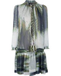 Jo No Fui - Woven Tie Fastening Dress - Lyst
