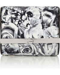 Karen Millen Dot Floral Print Mini Bag - Multicolour