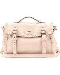 Mulberry Alexa Woven Leather Bag - Lyst