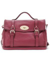 Mulberry Alexa Oversized Woven Bag - Lyst