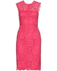 Valentino Chantilly Lace Dress - Lyst