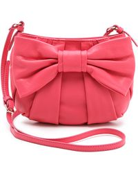 RED Valentino Bow Cross Body Bag - Lyst