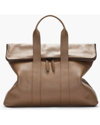 3.1 Phillip Lim - Brown Textured Leather 31 Hour Bag - Lyst