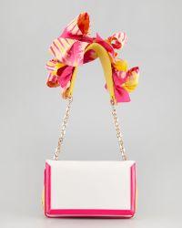 Christian Louboutin Artemis Flower Shoulder Bag - Lyst