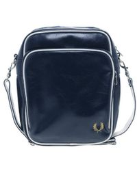 Fred Perry Classic Side Bag - Blue