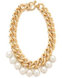 Juicy Couture Chunky Chain Necklace - Metallic