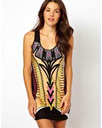 River Island Botswana Print Swimwear Dress - Multicolor