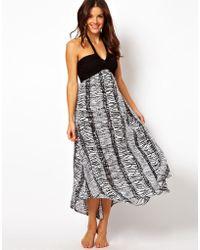 Seafolly Tribal Beach Maxi Dress - Lyst