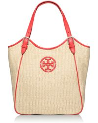 Tory Burch Small Slouchy Tote - Lyst