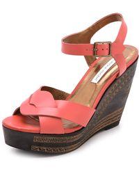 Twelfth Street Cynthia Vincent - Luz Wedge Sandals - Lyst