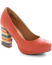 ModCloth Life Of The Private Party Heel - Lyst