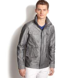 Calvin Klein Modern Trench Jacket - Lyst