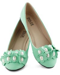ModCloth Pearls Of Winsome Flat - Lyst