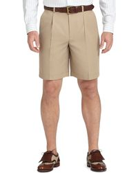 Brooks Brothers St Andrews Links Pleat-Front Golf Shorts - Lyst