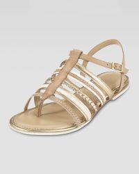 Cole Haan Nassau Braided Flat Sandal - Lyst