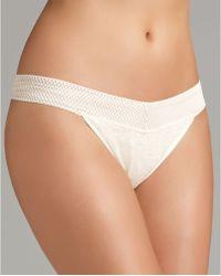 Splendid Intimates Thong Mesh Lace - Lyst