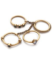 A Peace Treaty - Sidra Ring Set - Lyst