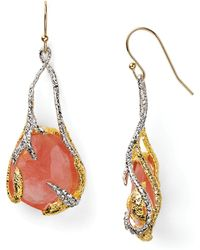 Alexis - Bittar Floral Suspended Cherry Earrings - Lyst