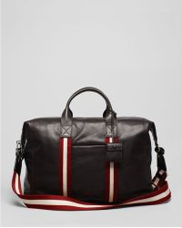 Bally Trainspotting Leather Duffel - Brown