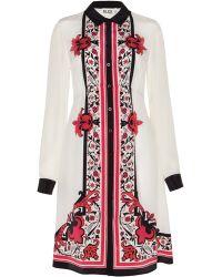 Alice By Temperley Nijinsky Print Shirt Dress - Lyst
