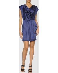 Catherine Malandrino Short Dress - Lyst