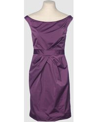 Isaac Mizrahi 3/4 Length Dress - Lyst