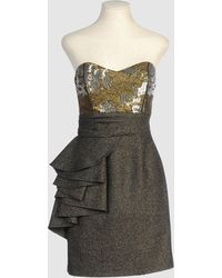 Mark + James by Badgley Mischka Short Dress - Lyst