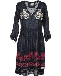 Odd Molly Short Dresses blue - Lyst
