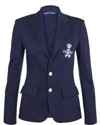 Ralph Lauren Blue Label - Custom Crest Blazer - Lyst