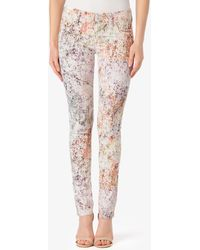 Hudson Collin Mid Rise Skinny - Lyst