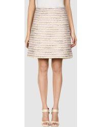 Marc Jacobs Knee Length Skirt - Lyst