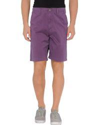 RVCA - Bermuda Shorts - Lyst