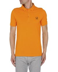 Raf Simons Polo Shirts - Orange
