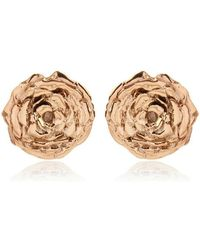 Leivan Kash - Olivia Rose Stud Earrings - Lyst