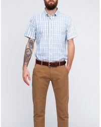Mark McNairy New Amsterdam Short Sleeve Dad Plaid Fun Shirt - Lyst