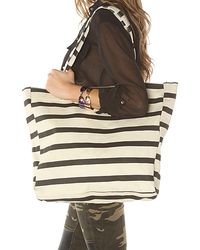 Nixon The Tree Hugger Canvas Tote in Boating Stripe - Lyst