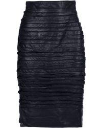 Gianni Versace Vintage Pencil Skirt - Lyst