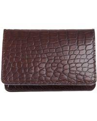Jean Rousseau - Aligator Leather Cardholder - Lyst