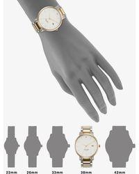 Kate Spade Gramercy Grand Two-Tone Stainless Steel Bracelet Watch - Lyst