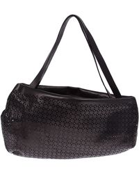 Marsèll Stencil Design Shoulder Bag - Black