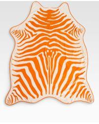 Maslin & Co. Zebra Hide Beach Towel Crossbody Leather Holster - Lyst