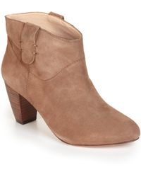 Rebecca Minkoff Doll Suede Ankle Boots - Brown