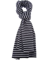 S.N.S. Herning Knitted Tube Scarf - Blue