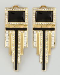 Rachel Zoe - Deco Drop Earrings - Lyst